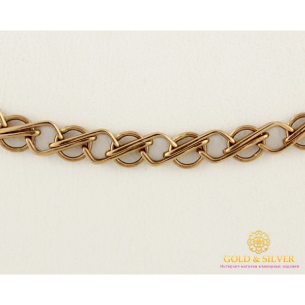 Золотая Цепь 585 проба. Цепь с красного золота, 50 сантиметров. 70603100 , Gold & Silver Gold & Silver, Украина