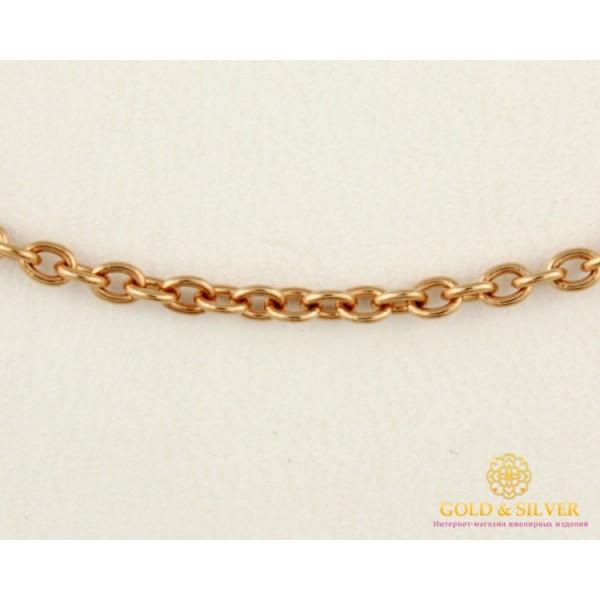 Золотая Цепь 585 проба. Цепочка Бельцер с красного золота, 55 сантиметров 501021050 , Gold & Silver Gold & Silver, Украина