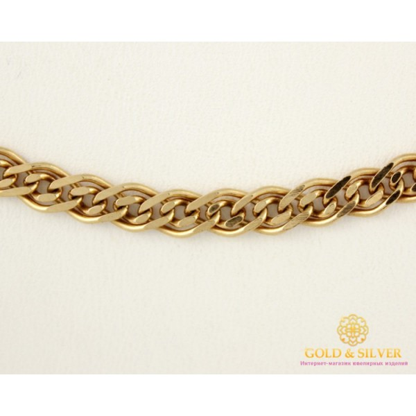 Золотая Цепь 585 проба. Цепочка с красного золота Мона Лиза (Нона) 50 сантиметров 512028041 , Gold &amp Silver Gold & Silver, Украина