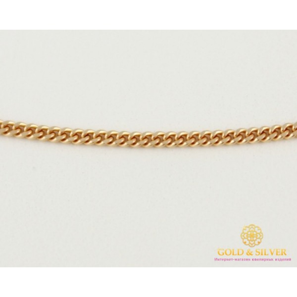 Золотая Цепь 585 проба. Цепочка с красного золота, плетение Панцирь 50 сантиметров 1,98 грамма 50101103041(50) , Gold & Silver Gold & Silver, Украина