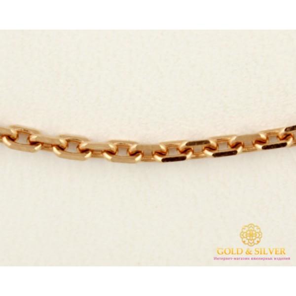 Золотая Цепь 585 проба. Цепочка с красного золота, плетение Якорь, 50 сантиметров 50102106044 , Gold & Silver Gold & Silver, Украина