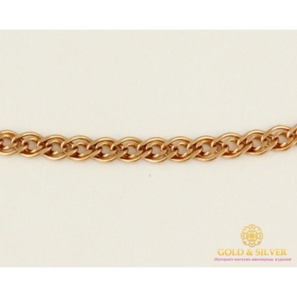 Золотая Цепь 585 проба. Цепочка из красного золота Нона 50120203041 , Gold &amp Silver Gold & Silver, Украина