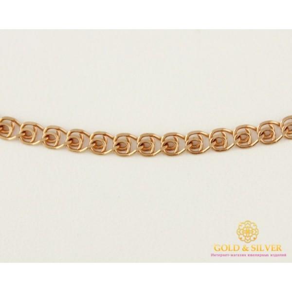 Золотая Цепь 585 проба. Женская цепочка Love (Лав) с красного золота, 50 сантиметров 50123103541 , Gold &amp Silver Gold & Silver, Украина
