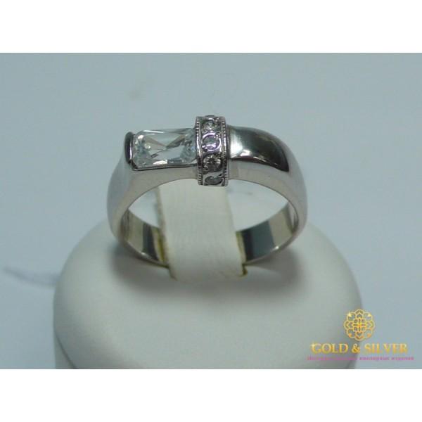Серебряное Кольцо Дали 1025p , Gold & Silver Gold & Silver, Украина