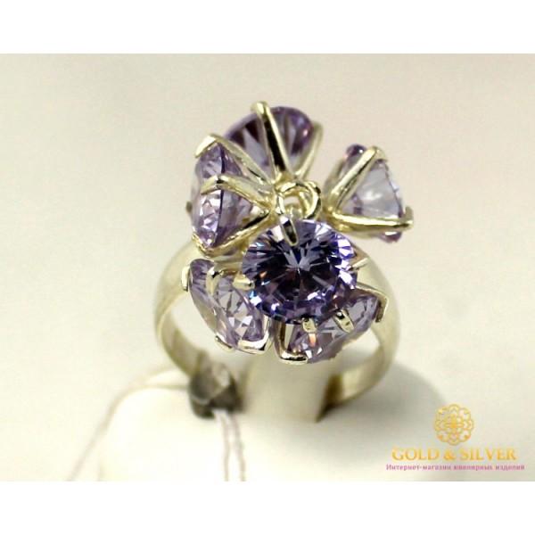 Серебряное Кольцо Дэнс Фианит 1107k , Gold & Silver Gold & Silver, Украина
