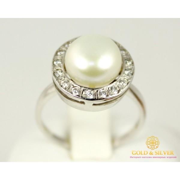 Серебряное кольцо 925 проба. Женское серебярное Кольцо Кувшинка 1694p , Gold &amp Silver Gold & Silver, Украина