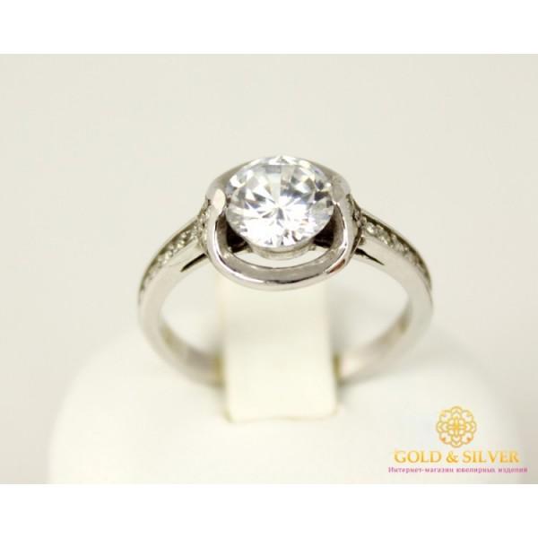 Серебряное кольцо 925 проба. Женское серебряное Кольцо Сима 14039p , Gold &amp Silver Gold & Silver, Украина