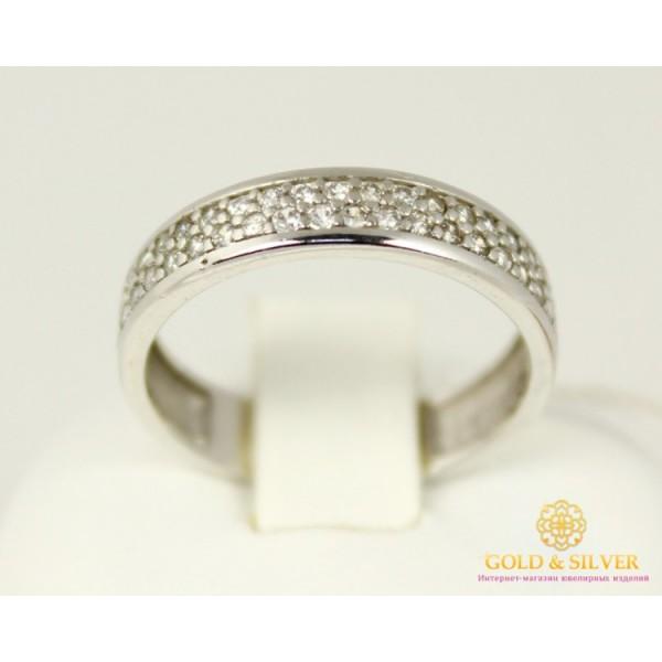 Серебряное кольцо 925 проба. Женское серебряное Кольцо Нэсси 15589p , Gold & Silver Gold & Silver, Украина