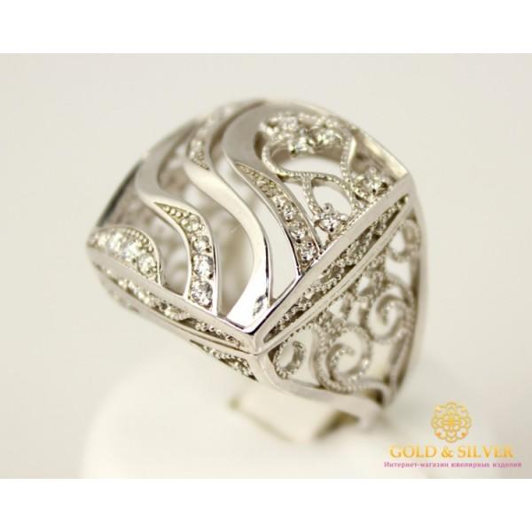 Серебряное кольцо 925 проба. Женское серебряное кольцо, 17 размер. 320819c , Gold &amp Silver Gold & Silver, Украина