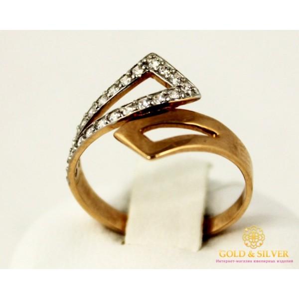 Золотое кольцо 585 проба. Женское Кольцо с красного и белого золота 320859 , Gold &amp Silver Gold & Silver, Украина