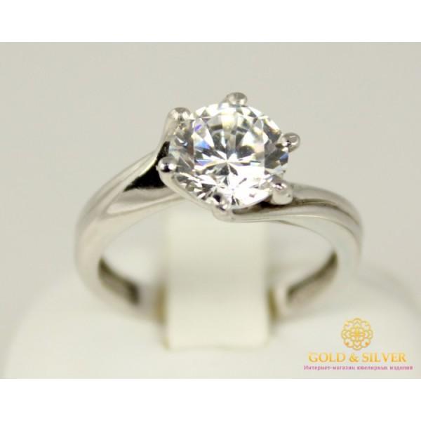 Серебряное кольцо 925 проба. Серебряное женское Кольцо 320895c , Gold & Silver Gold & Silver, Украина