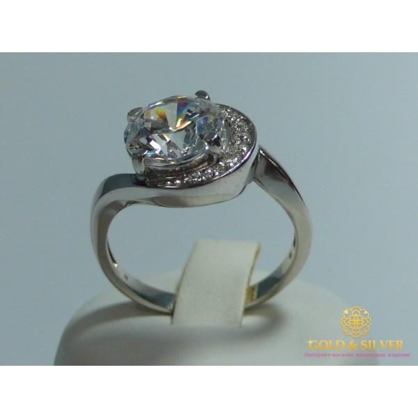 Серебряное кольцо 925 проба. Женское серебряное Кольцо 320896c , Gold &amp Silver Gold & Silver, Украина
