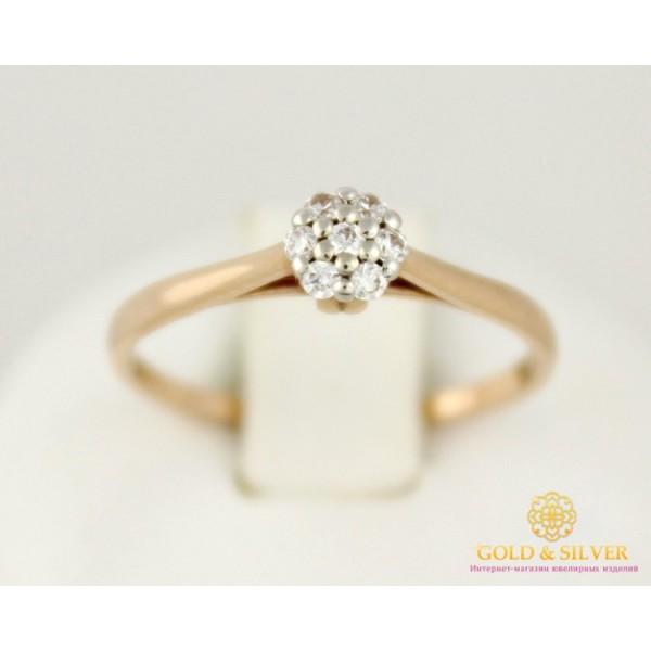 Золотое кольцо 585 проба. Женское Кольцо с красного золота, Корона для Принцессы №1, 1,41 грамма 320960 , Gold & Silver Gold & Silver, Украина