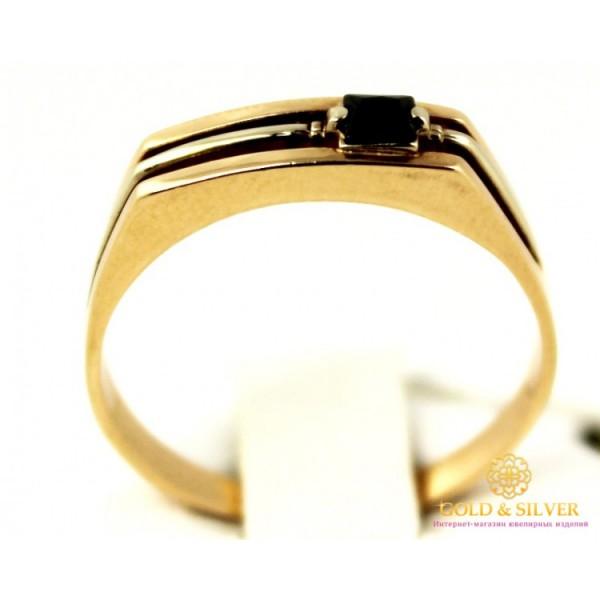 Золотое кольцо 585 проба.  Мужское Кольцо с красного золота, k145 , Gold &amp Silver Gold & Silver, Украина