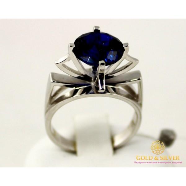 Серебряное кольцо 925 проба. Женское серебряное Кольцо с вставкой синего камушка. 330755c , Gold & Silver Gold & Silver, Украина