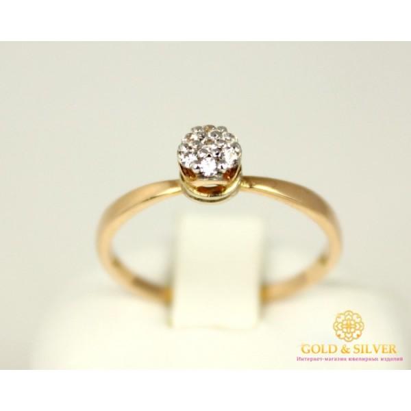Золотое кольцо 585 проба. Женское Кольцо с красного золота, Корона для Принцессы номер 3 1,83 грамма 330861 , Gold &amp Silver Gold & Silver, Украина
