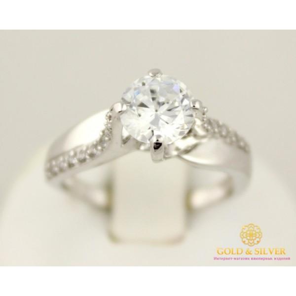 Золотое кольцо 585 проба. Женское Кольцо с белого золота. kv1021i , Gold & Silver Gold & Silver, Украина