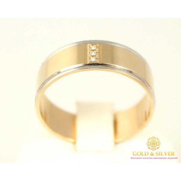 Золотое кольцо 585 проба. Обручальное Золотое Кольцо с красного золота ok235 , Gold & Silver Gold & Silver, Украина