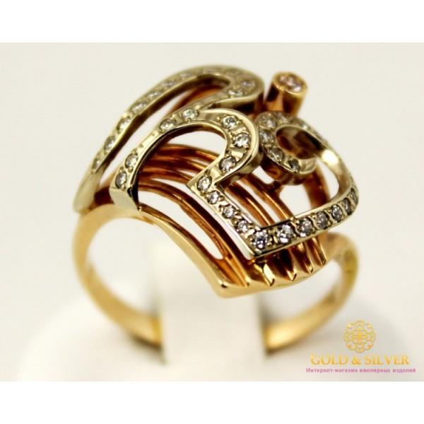 Золотое кольцо 585 проба. Женское Кольцо с красного и белого золота. k184 , Gold &amp Silver Gold & Silver, Украина