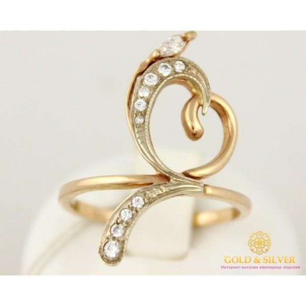 Золотое Кольцо 585 проба. Женское Кольцо любви с красного золота. kv413 , Gold &amp Silver Gold & Silver, Украина