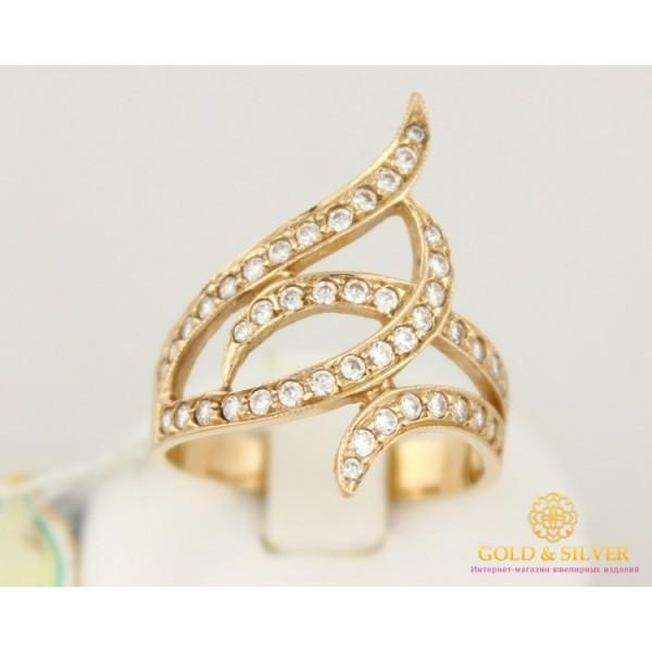 Золотое кольцо 585 проба. Женское Кольцо ковыль с красного золота.4,75 грамма. kv561 , Gold &amp Silver Gold & Silver, Украина