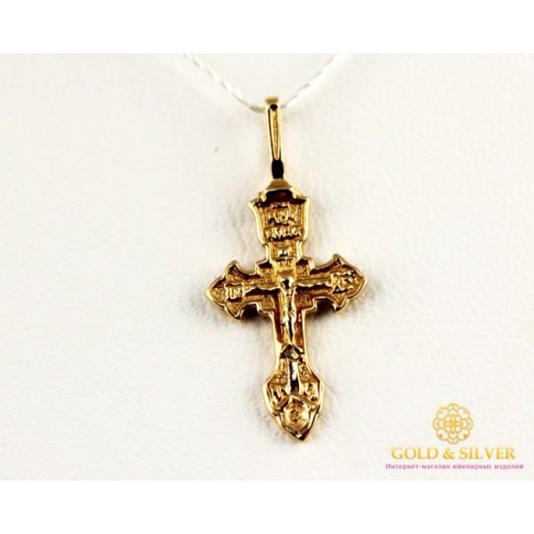 Золотой Крестик kp003i , Gold & Silver Gold & Silver, Украина