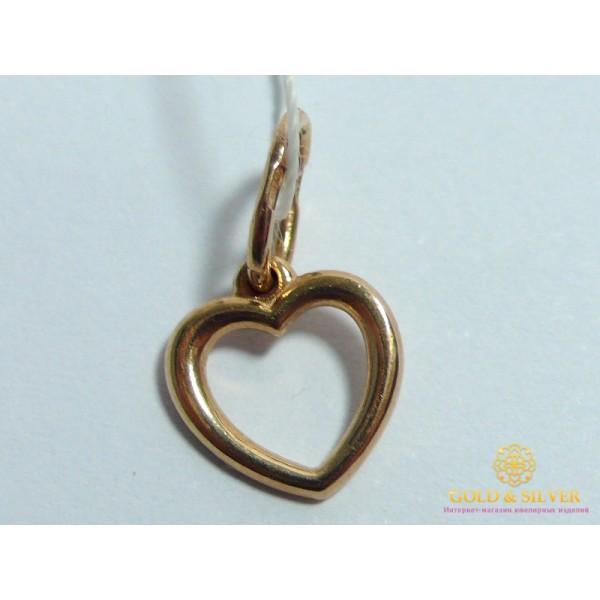 Кулон Сердце pb042i , Gold &amp Silver Gold & Silver, Украина