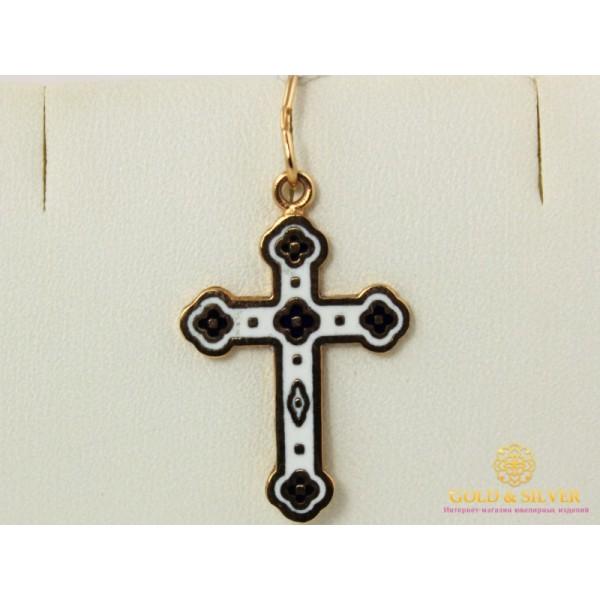 Золотой Крест Эмаль pu7744 , Gold & Silver Gold & Silver, Украина