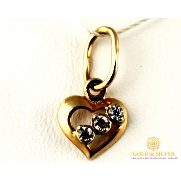 Кулон Сердце pv018i , Gold & Silver Gold & Silver, Украина