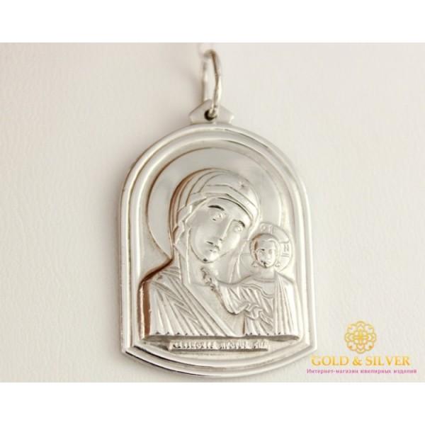 Серебряная Икона Божья Матерь 110288c , Gold &amp Silver Gold & Silver, Украина