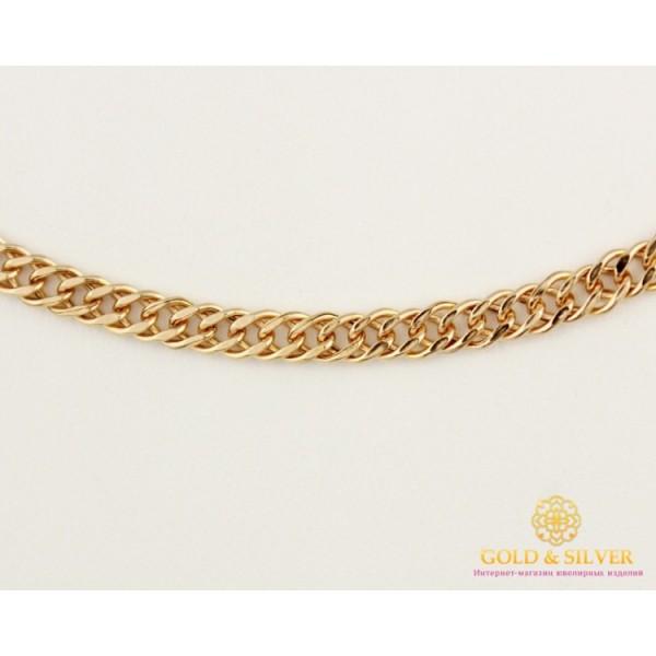 Золотая цепь 585 проба. Цепочка Ромб с красного золота, 45 сантиметров. 50106206041n , Gold & Silver Gold & Silver, Украина