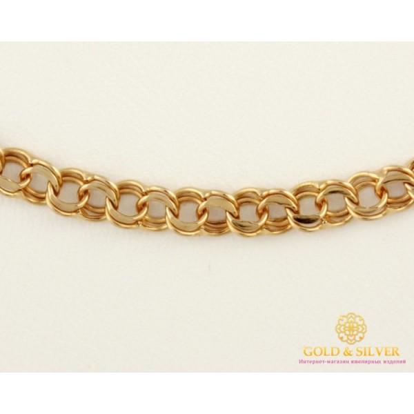 Золотая Цепь 585 проба. Цепочка Бисмарк с красного золота, 55 сантиметров. 50115050041n , Gold &amp Silver Gold & Silver, Украина