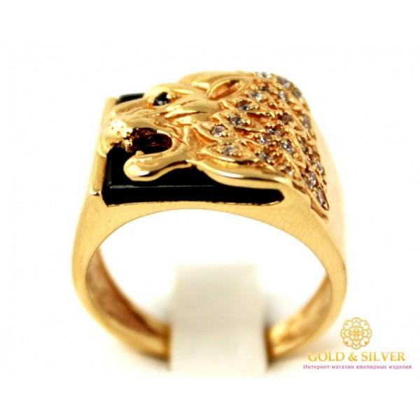 Золотой перстень 585 проба. Мужской Перстень Лев с красного золота. 9,11 грамма. pch00910i , Gold &amp Silver Gold & Silver, Украина
