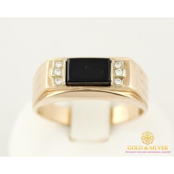 Золотое кольцо 585 проба. Мужское кольцо с красного золота. 5,89 грамма. pch002i , Gold & Silver Gold & Silver, Украина
