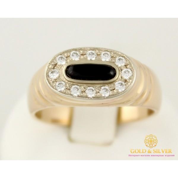 Золотое кольцо 585 проба. Мужское кольцо с красного золото. 7,06 грамма. pch019i , Gold & Silver Gold & Silver, Украина