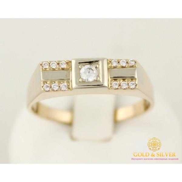 Золотое кольцо 585 проба. Мужское кольцо с красного золота. 5 грамм. pch0991i , Gold & Silver Gold & Silver, Украина