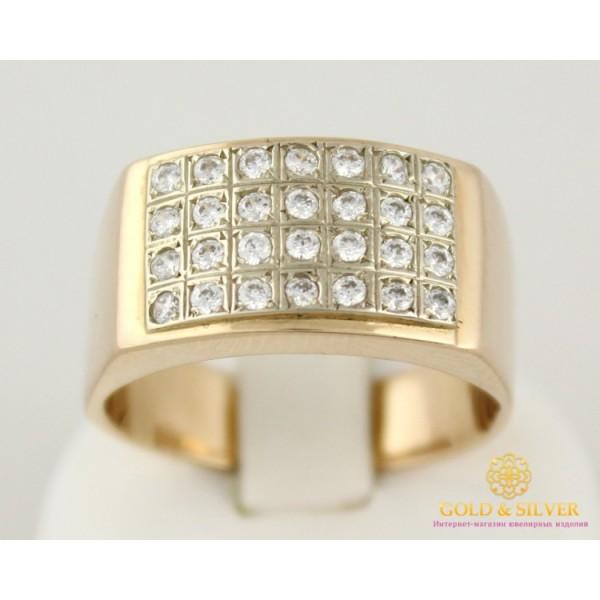 Золотое Кольцо 585 проба. Кольцо с красного золота, с россыпью камней, 11,6 грамма. pch009 , Gold &amp Silver Gold & Silver, Украина