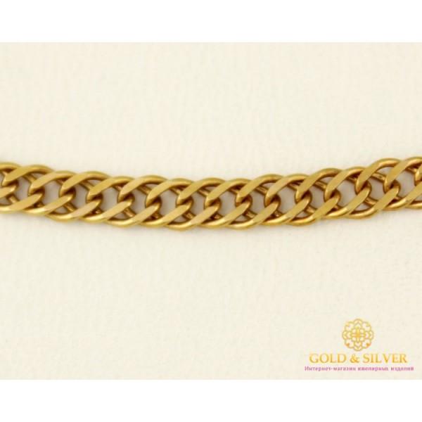 Золотая Цепь 585 проба. Цепочка с красного золота, плетение Ромб плотный, 45 сантиметров. 8187720 , Gold & Silver Gold & Silver, Украина