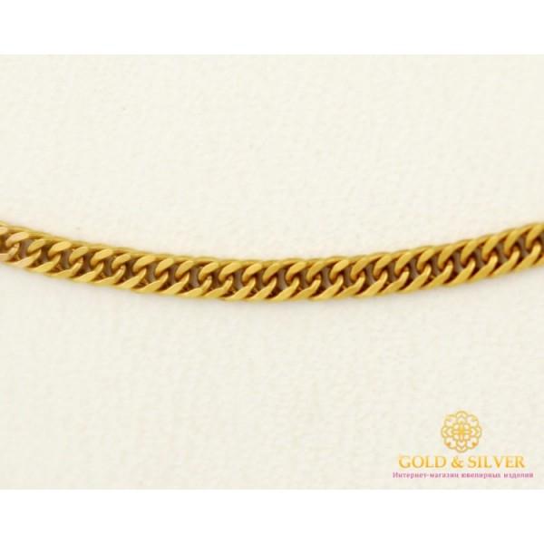 Золотая Цепь 585 проба. Цепочка с красного золота, плетение Ромб плотный, 55 сантиметров. 8385700 , Gold & Silver Gold & Silver, Украина