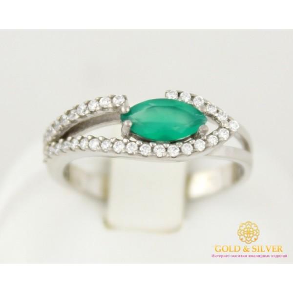 Серебряное кольцо 925 проба. Кольцо женское консуэлла Агат 16059 , Gold &amp Silver Gold & Silver, Украина