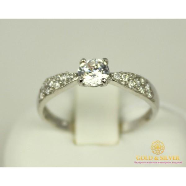 Серебряное кольцо 925 проба. Женское серебряное Кольцо Анечка 15879r , Gold & Silver Gold & Silver, Украина