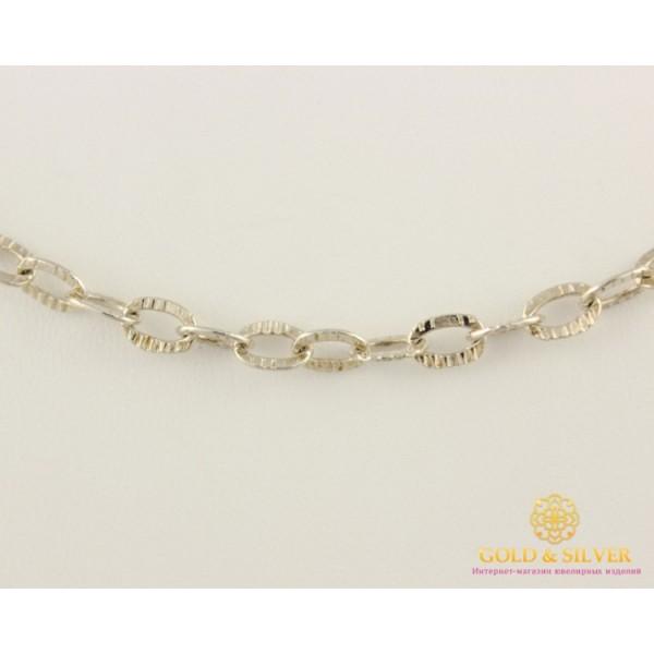 Серебряная Цепь Якорь овальный 320801 , Gold & Silver Gold & Silver, Украина