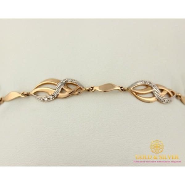 Золотой браслет 585 проба. Женский Браслет с красного золота 40200 , Gold &amp Silver Gold & Silver, Украина