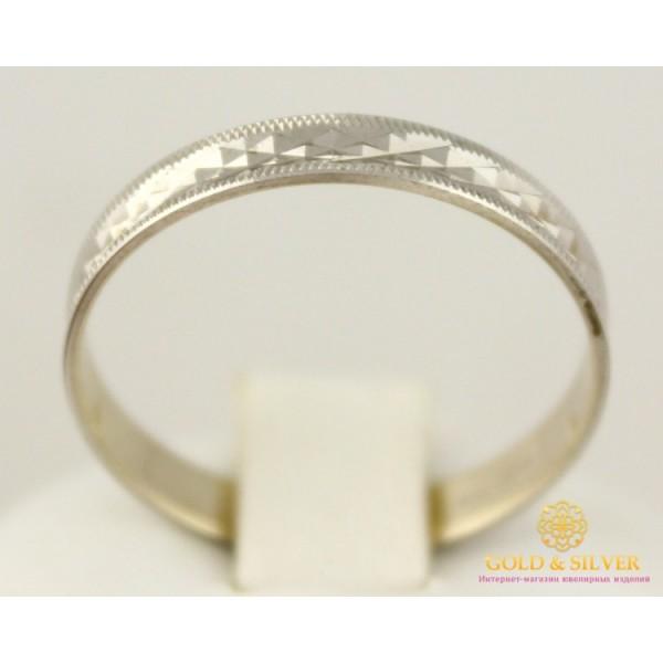 Золотое кольцо 585 проба. Обручальное Кольцо с белого золота. ok019b , Gold & Silver Gold & Silver, Украина