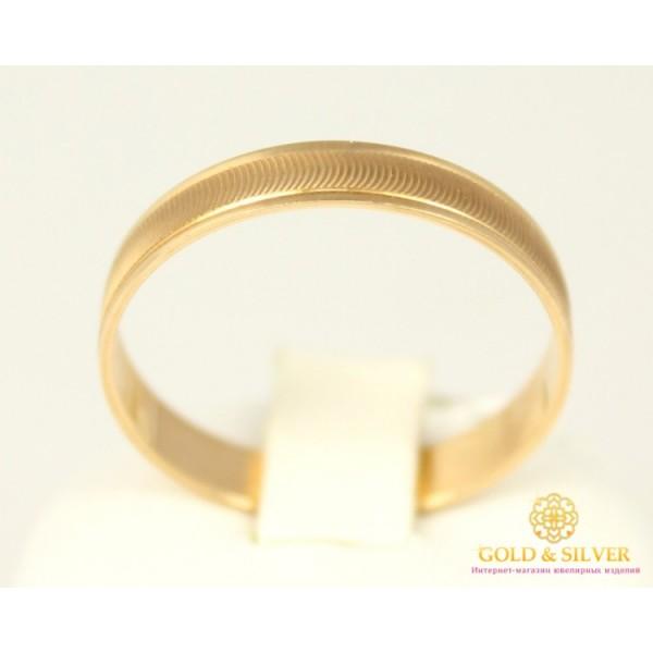 Золотое кольцо 585 проба. Обручальное Кольцо с красного золота. ok100 , Gold & Silver Gold & Silver, Украина
