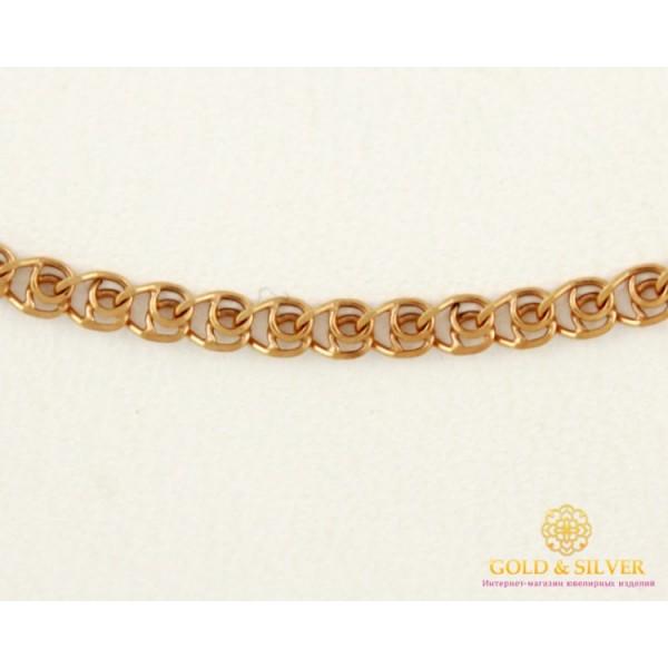 Золотая Цепь 585 проба. Женская цепочка Love (Лав) с красного золота 512313041 , Gold & Silver Gold & Silver, Украина