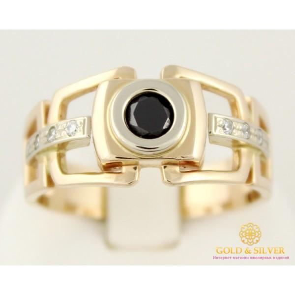 Золотое кольцо 585 проба. Мужское кольцо с красного и белого золота. 7,99 грамма. pch041i , Gold &amp Silver Gold & Silver, Украина