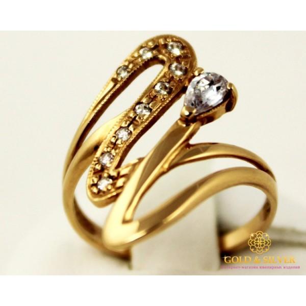 Золотое кольцо 585 проба. Женское Кольцо 112731 , Gold &amp Silver Gold & Silver, Украина