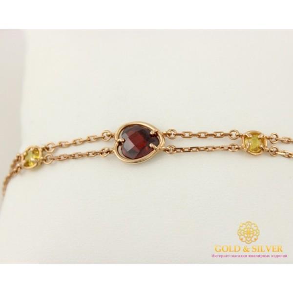 Золотой браслет 585 проба. Женский Браслет с красного золота, Сердце 893019 , Gold &amp Silver Gold & Silver, Украина