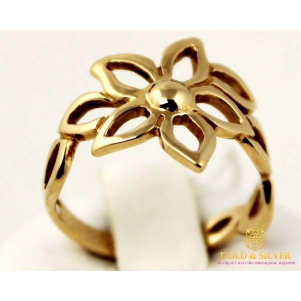 Золотое кольцо 585 проба. Женское Кольцо 2,97 грамма. kb001i , Gold &amp Silver Gold & Silver, Украина
